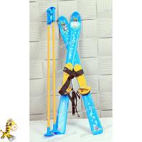 Лыжи с палками детские, арт.3350