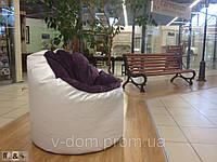 Бескаркасное кресло из оксфорда