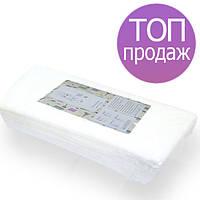 Одноразовые полотенца Panni Mlada 35х70см 40г/м2, для парикмахерских,  гладкие 50 шт в пластах