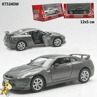 Машинка железная Kinsmart KT5340W 2009 Nissan GT-R R3