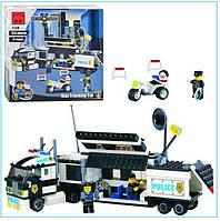 Конструктор BRICK 128 Полицейский участок
