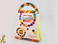 Набор для создания украшений Komilfo Комильфо - браслетик макраме и браслет из кристаллов