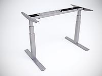 Рама стола Ultra регулируемая по высоте для работы сидя-стоя с двумя моторами