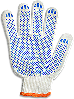 Перчатки Stark 510851010, белые, 220 текс