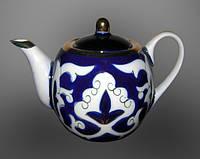 Узбекская национальная посуда Пахта-стандарт. Чайник круглый 0,7 л.