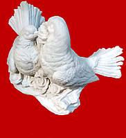 Голуби пара (белый)