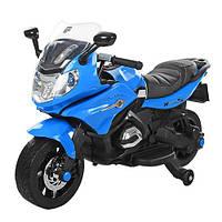 Детский электромобиль мотоцикл M 3571 blue
