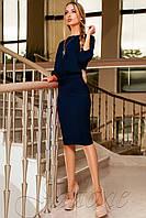 Классический костюм из красивой ткани Тиани