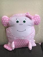 Подушка обезьянка, бортик в детскую кроватку