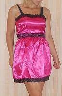 Атласное платье 48, фото 1