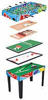 Детский игровой набор спортивных настольных игр 9 в 1 Hudora