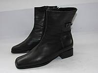 Кожаные качественные ботинки _Германия _6р-ст.25.5см _Н61