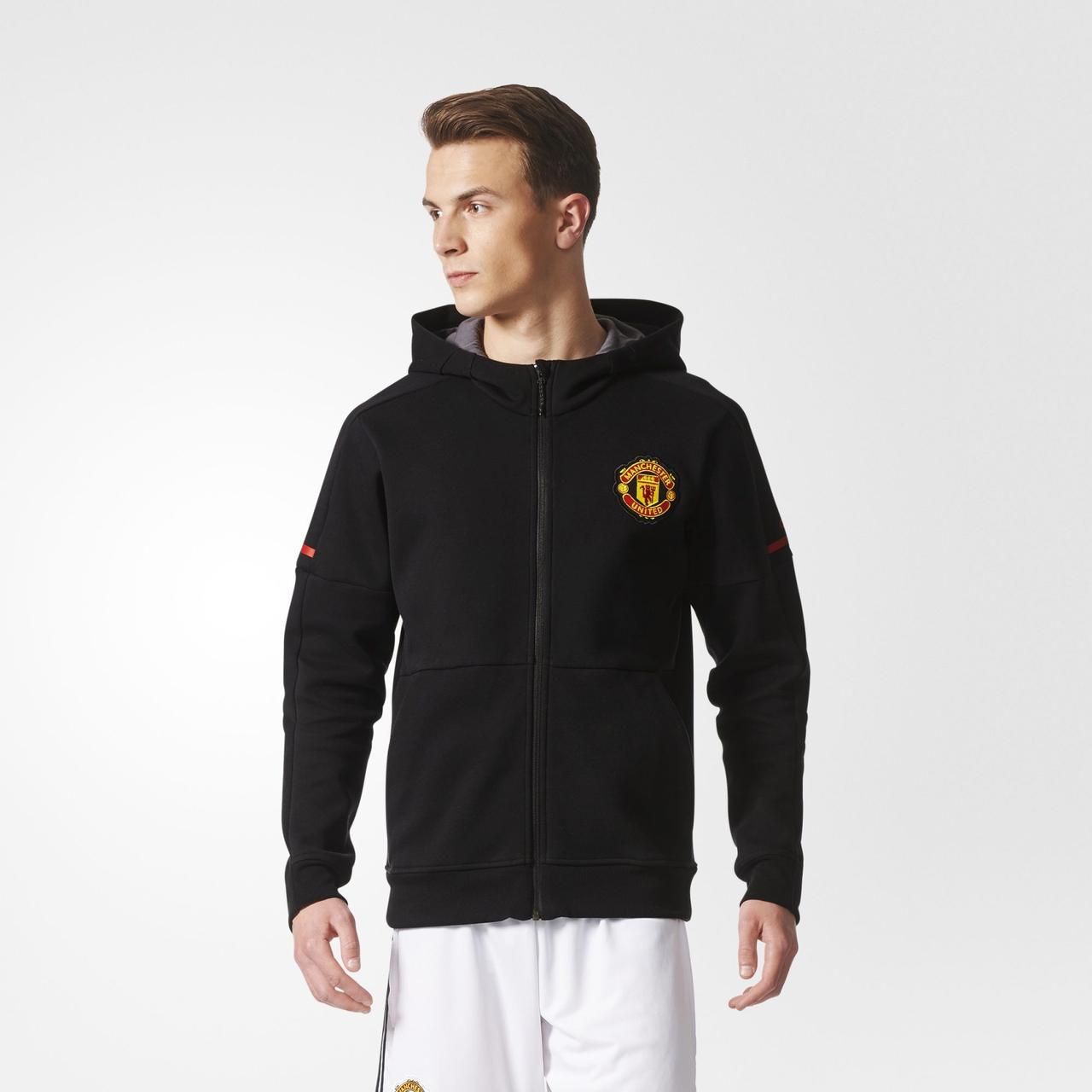 Мужская толстовка Adidas Performance Manchester United Anthem Squad (Артикул: BQ2234)