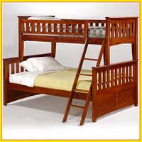 Кровать двухъярусная трансформер  «Жасмин» 1 Сорт