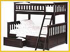 Кровать двухъярусная трансформер  «Жасмин» 1 Сорт, фото 4