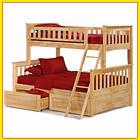 Кровать двухъярусная трансформер  «Жасмин» 1 Сорт, фото 5