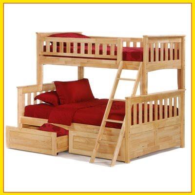 Ліжко двоярусне трансформер «Жасмин»
