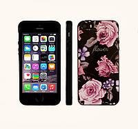 Бампер Primo Flower Rose для Apple iPhone 5 / 5S