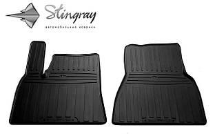 TESLA Model S 2012- Комплект из 2-х ковриков Черный в салон. Доставка по всей Украине. Оплата при получении