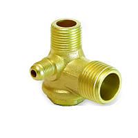Обратный клапан на компрессор наружный (медный)