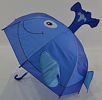 """Детский зонтик с ушками на 2-5 лет от фирмы """"Fine Rain""""."""