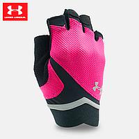 Женские перчатки для фитнеса Under Armour Flux UA Pink (розовый)