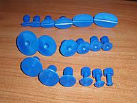 PDR GT-18 грибки клеевые набор сменных насадок для инструмента 18 штук инструмент для удаления вмятин