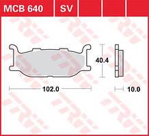 LUCAS MCB640SV - Тормозные колодки