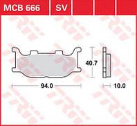 LUCAS MCB666SV - Тормозные колодки