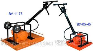 Виброуплотнитель электрический (виброплита электрическая)