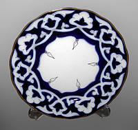 Узбекская национальная посуда Пахта-стандарт. Тарелка d~24см.