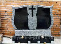 Пам'ятник гранітний на дві могили