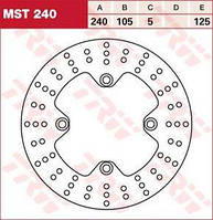 LUCAS MST240 - Тормозной диск
