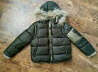 """Демисезонная двусторонняя куртка для мальчика """"Fendi"""" с отстежными рукавами"""