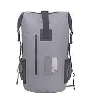Водонепроницаемій рюкзак GA-sport 35L серый