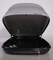 Автомобильный бокс Terra Drive 480л серый двухстороннее