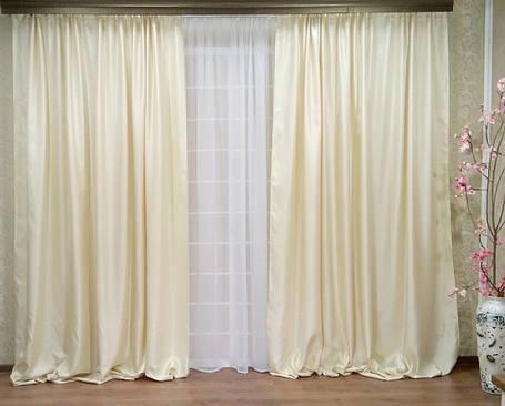 """Комплект штор """"Ришелье Экрю"""" (Жаккард вышивка), фото 2"""