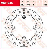 LUCAS MST245 - Тормозной диск