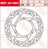 LUCAS MST301RAC   Р - Тормозной диск