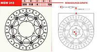 LUCAS MSW313   Р - Тормозной диск