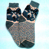 Носки вязаные мужские, фото 1