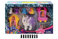 Набор фигурок Пони My Little Pony с аксессуарами SM7012