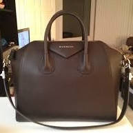 Сумка Givenchy Antigona Bag шоколад