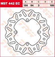 LUCAS MST442EC - Тормозной диск