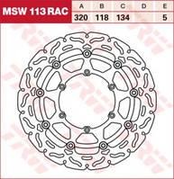 LUCAS MSW113RAC - Тормозной диск