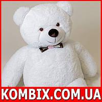 Плюшевый мишка, медведь 130 см - белый