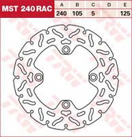 LUCAS MST240RAC - Тормозной диск