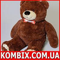 Плюшевый мишка, медведь 130 см - бурый