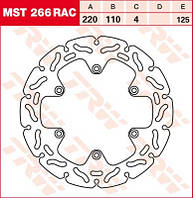 LUCAS MST266RAC   Р - Тормозной диск