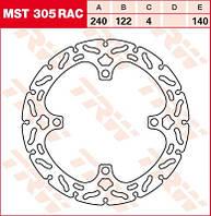 LUCAS MST305RAC   Р - Тормозной диск
